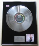 TINA TURNER - Private Dancer PLATINUM LP Presentation Disc